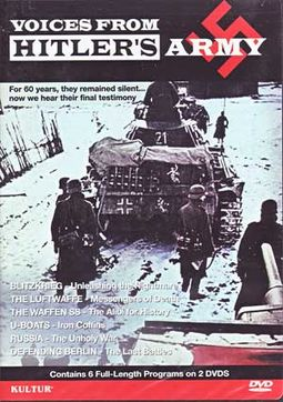 WWII - Voices from Hitler's Army (2-DVD)