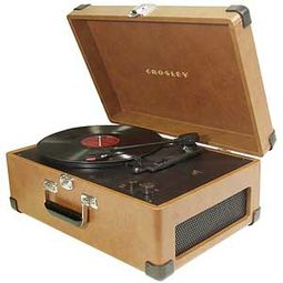Crosley CR49-TA Traveler Turntable - Tan