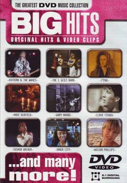 Big Hits: Original Hits & Video Clips [Import]