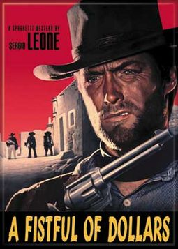 Clint Eastwood - Fistful Of Dollars Photo Magnet