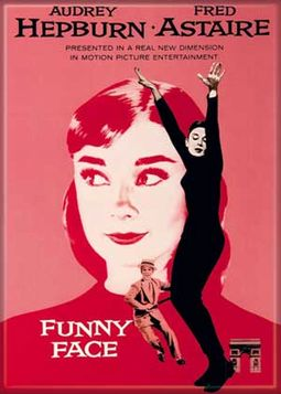 Audrey Hepburn - Funny Face - Photo Magnet