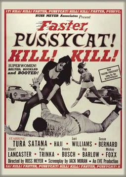 Faster Pussycat Kill Kill - Photo Magnet (2-1/2""