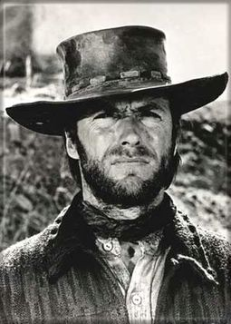 "Clint Eastwood - Cowboy Photo Magnet 2 1/2"" x 3"