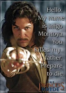 Princess Bride - My Name Is Inigo Montoya Photo
