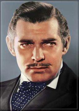 "Rhett Butler Head Shot - Photo Magnet (2-1/2"" x"