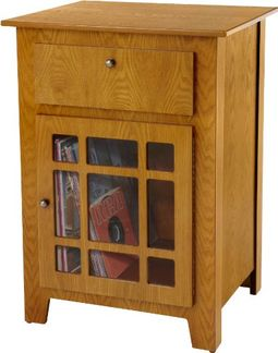 Crosley ST73-OA Mission Style Stand (Oak)