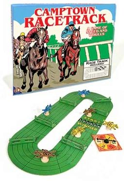 Camptown Racetrack Vintage Board Game