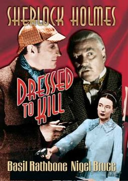 Sherlock Holmes - Dressed To Kill - Large Poster