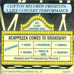 Acappella Comes To Broadway