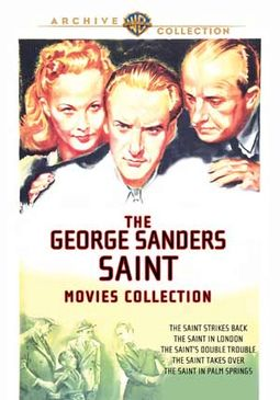 The George Sanders Saint Movies Collection (The