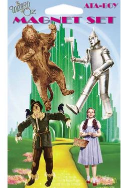 The Wizard of Oz - Four Pack Magnet Set
