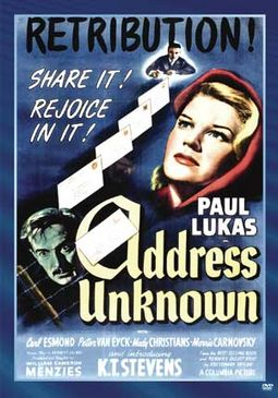Address Unknown (Widescreen)