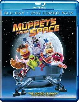 The Muppets Muppets From Space Blu Ray Dvd 1999