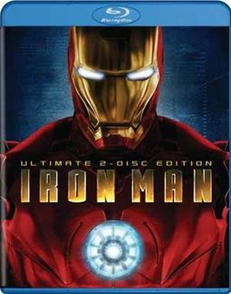 Iron Man (Blu-ray, Ultimate Edition, 2-Disc Set)