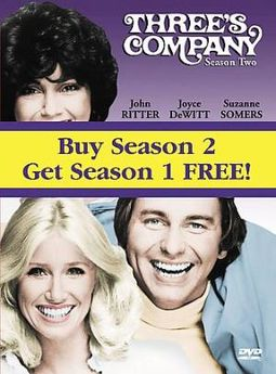 Three's Company - Seasons 1 & 2 (5-DVD)