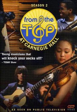 From The Top at Canergie Hall - Season 2 (2-DVD)