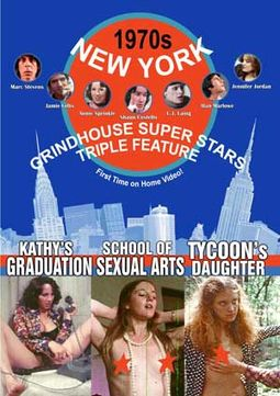 1970s New York Grindhouse Super Stars Triple
