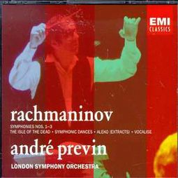 Rachmaninov: Symphonies Nos. 1-3 / The Isle of