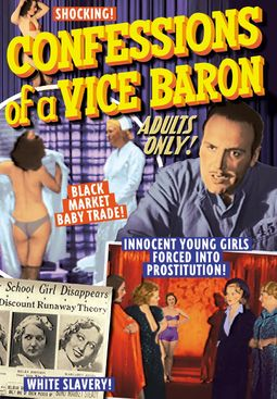 "Confessions of A Vice Baron - 11"" x 17"" Poster"