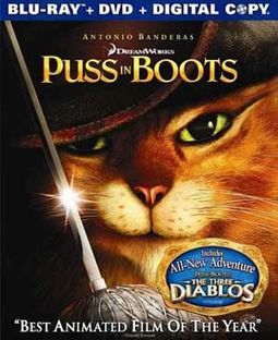 Puss in Boots (Blu-ray + DVD)
