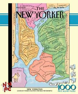 New Yorker - New Yorkistan Puzzle
