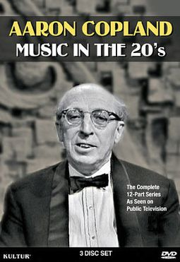 Aaron Copland - Music in the 20's (3-DVD)