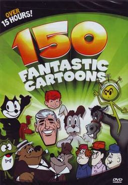 150 Fantastic Cartoons (3-DVD)