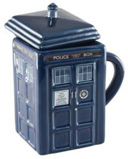 Doctor Who - Figural TARDIS - 15 oz. Ceramic Mug