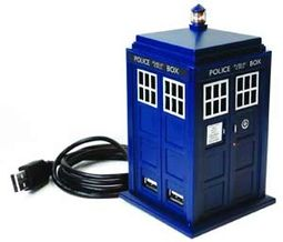 Doctor Who - The 11th Doctor - 4-Port USB TARDIS