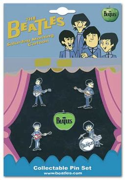 The Beatles - Cartoon Beatles: 5-Piece