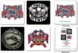 Lynyrd Skynyrd - Coasters: 4 Piece Coaster Set In