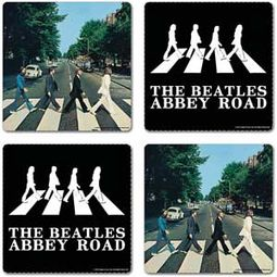 The Beatles - Abbey Road: 4-Piece Coaster Set In