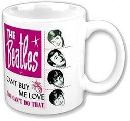 Can't Buy Me Love: 12 oz. Ceramic Mug