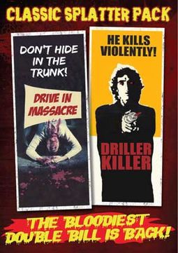 Classic Splatter Pack: Drive In Massacre (1977) /