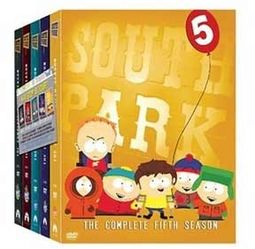 South Park - Complete Seasons 1-5 (15-DVD)