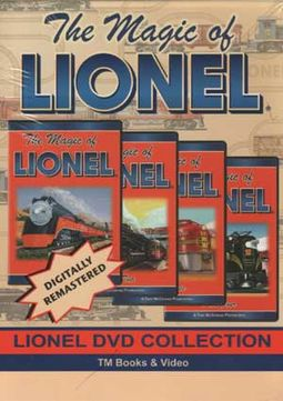 Trains (Toy) - The Magic of Lionel (4-DVD)