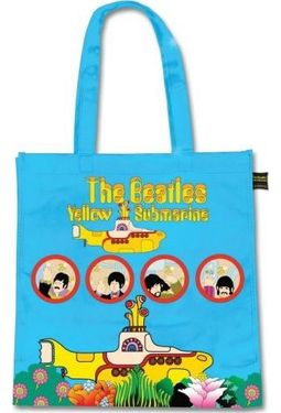 The Beatles - Yellow Submarine Eco Shopper Tote