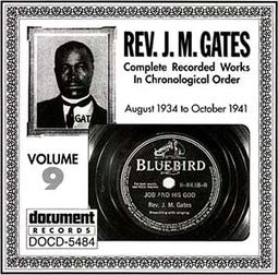 Rev. J.M. Gates, Volume 9: 1934-1941