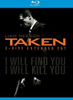 Taken (Blu-ray, Extended Cut, Includes Digital