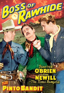 Texas Rangers Double Feature: Boss of Rawhide