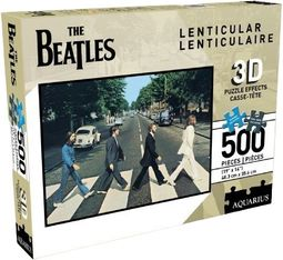 The Beatles - Abbey Road: 500-Piece Lenticular