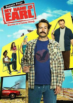 My Name Is Earl - Season 4 (4-DVD)