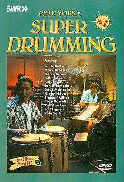 Pete York's Super Drumming - Volume 3 (2-DVD)