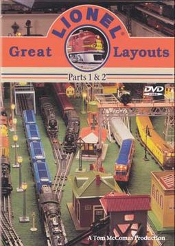 Trains (Toy) - Great Lionel Layouts, Parts 1 & 2