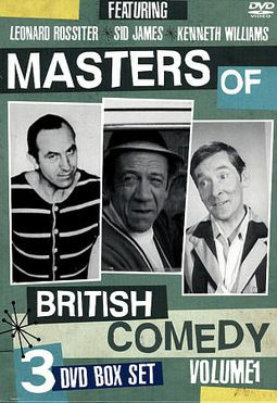 Masters of British Comedy, Volume 1 (3-DVD)