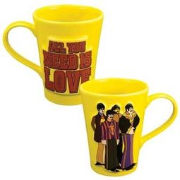 Yellow Submarine: 14 oz. Scultped Mug