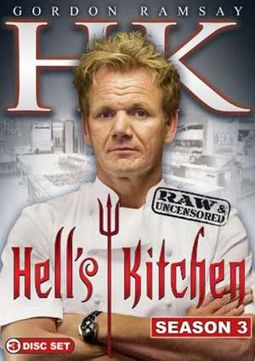 Hell's Kitchen - Season 3 (3-DVD)