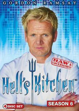 Hell's Kitchen - Season 6 (4-DVD)