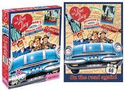 I Love Lucy - Hollywood Road Trip - 1000-Piece