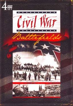Civil War - Civil War Battlefields (4-DVD)